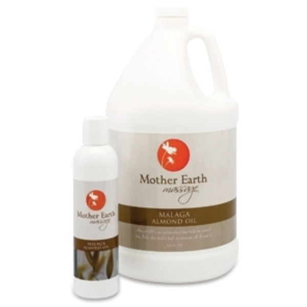 Malaga Almond Oil 8 oz. by Mother Earth (P410)