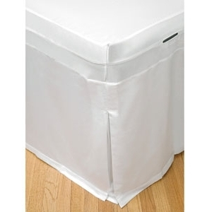 "30"" White Table Skirt by Simon West (MIC-10)"