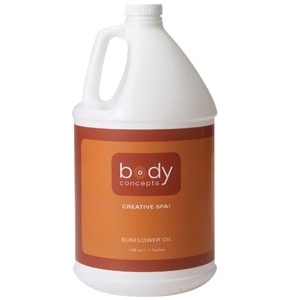 Sunflower Oil 128 oz. by Body Concepts (P288)