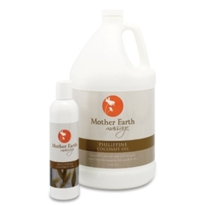 Phillipine Coconut Oil 8 oz. by Mother Earth (P434)