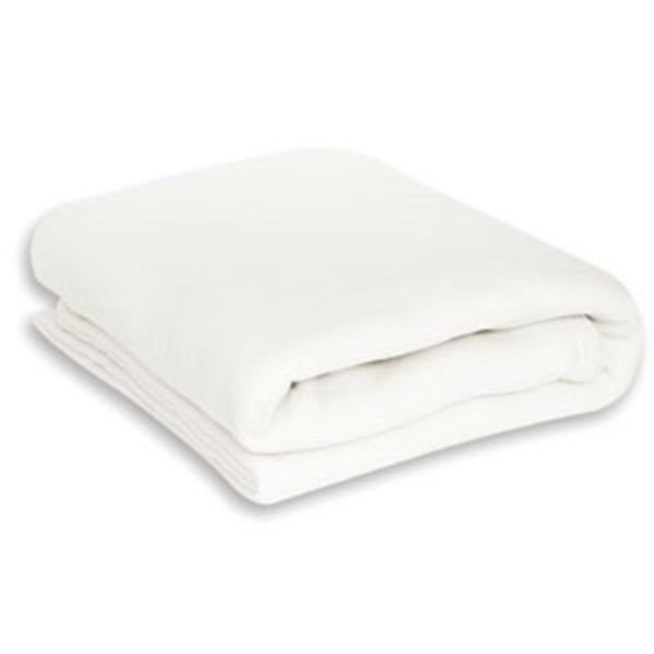 Ivory Polar Fleece Blanket (EHPF404I)