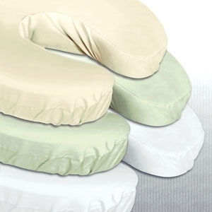 Microfiber Headrest Cover White by Simon West (MICWH)