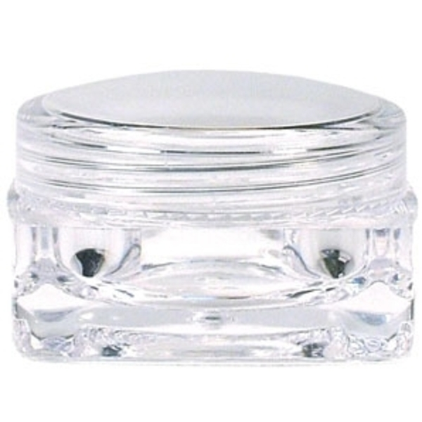 Jar and Cap Square 0.17 oz. 50 Pack (Q-52)