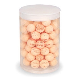 Papaya Fizz Manicure Balls 24 Count by Cuccio (CUC3028)