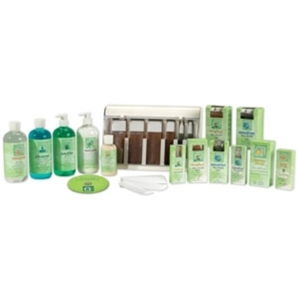 Full-Service Waxing Spa Kit by Clean & Easy (CE-40200)