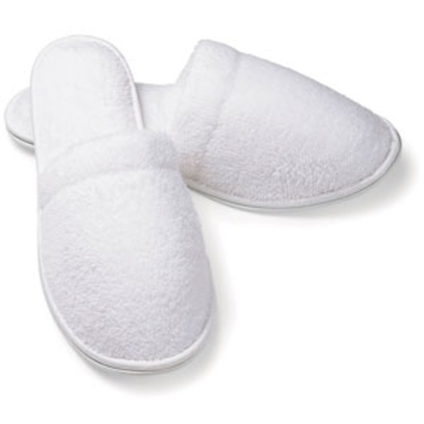 Ladies Closed Toe Slippers Micro Terry by Boca Terry (SSSW087)