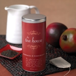 Echinacea & Pomegranate Case of 6 by The Tea House (P02B)