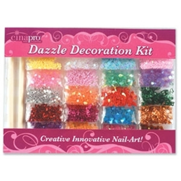 Dazzle Decoration Kit Nail Art (8001)