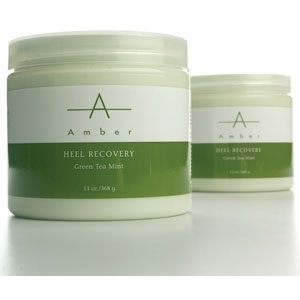 Green Tea Mint Heel Recover 64 oz. by Amber Products (AP135)