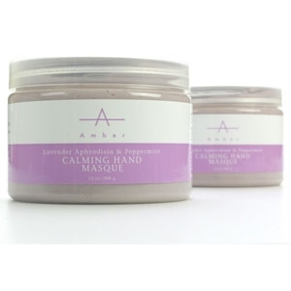 Lavender Aphrodisia Calming Hand Masque 13 oz. by Amber Products (AP106)