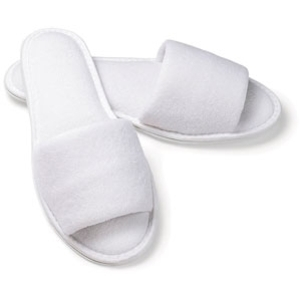 Terry Open Toe Slipper Mens by Boca Terry (SSSW009)