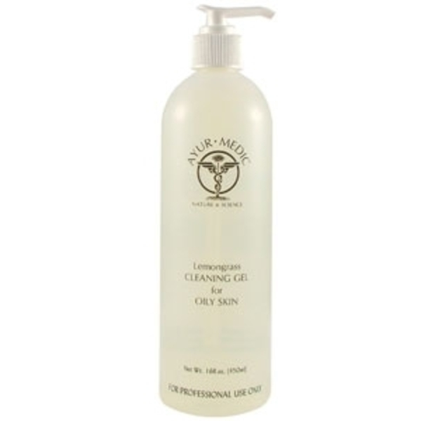 Lemongrass Cleansing Gel 16 oz. by Ayur-Medic Skincare (AM05P)