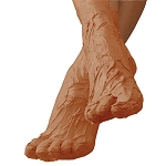 Relaxing Foot Masque 1 Lb. Bulk by uQ (UQ-5B)