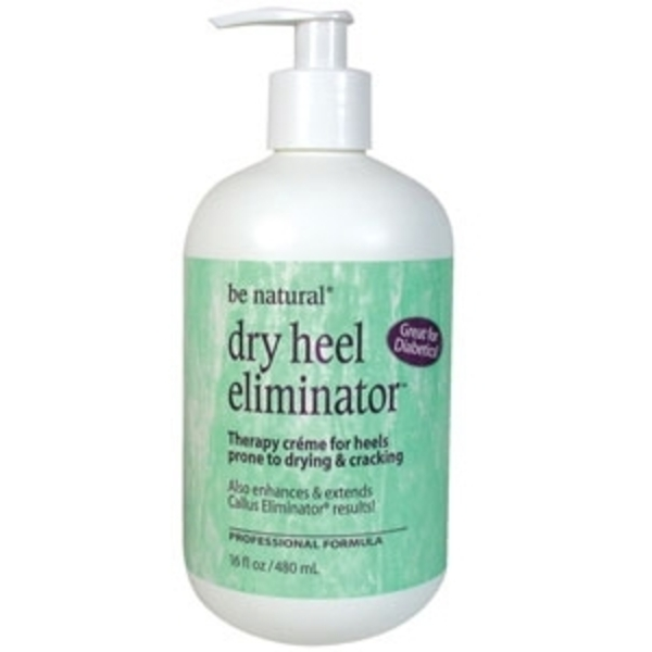 Dry Heel Eliminator 16 oz. Pump by Be Natural (22440)