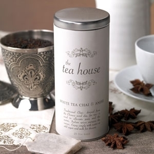 White Tea Chai & Anise Tea Case of 6 by The Tea House (P10B)