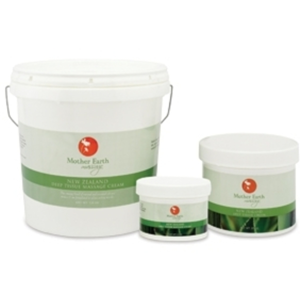 New Zealand Deep Tissue Cream 128 oz. by Mother Earth (P480)