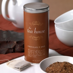 Chocolate & Spice Case of 6 by The Tea House (P06B)