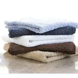 "Brown Wash Cloths 13"" X 13"" 1 Dozen by Diamond Towels (DT-13)"