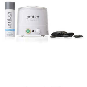 Hot Stone Facial Massage Kit by Amber Products (AMBE832K)