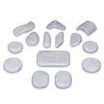 Marble Specialty Stone Set 14 stones by T.I.R. Massage Stone (TSMK14BS)