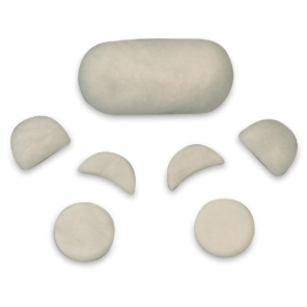 Facial Starter Stone Set 7 Pieces by T.I.R. Massage Stone (TSMK7FS)