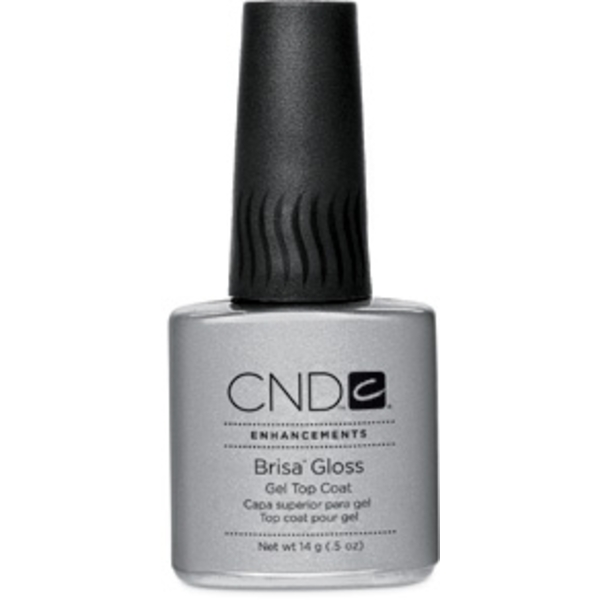 Brisa Gloss Gel Top Coat 0.5 oz. by CND (CN08054)