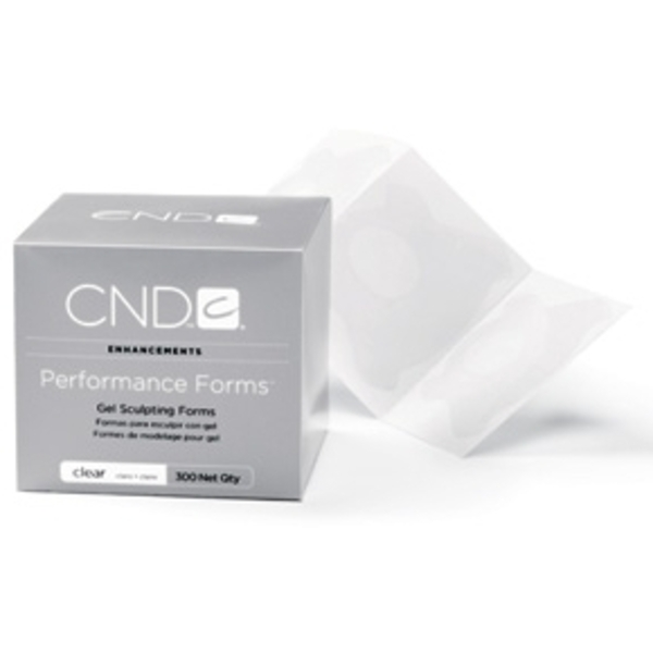 Performance Forms Clear 300 Count by CND (CN10505)