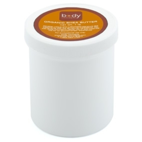 Organic Shea Butter 16 oz. by Body Concepts (P292)