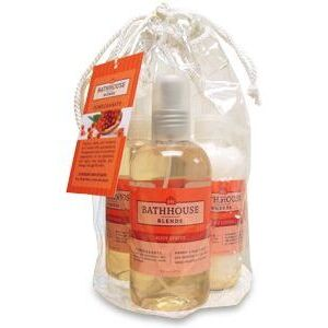Bathhouse Blends Pomegranate 8 oz. Body Kit (P600PK)