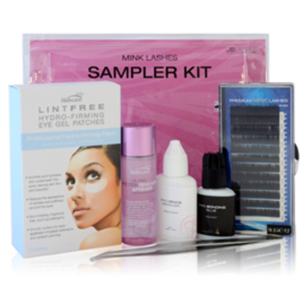 Mink Lashes Sampler Kit-C Curl (JBTSML-C)