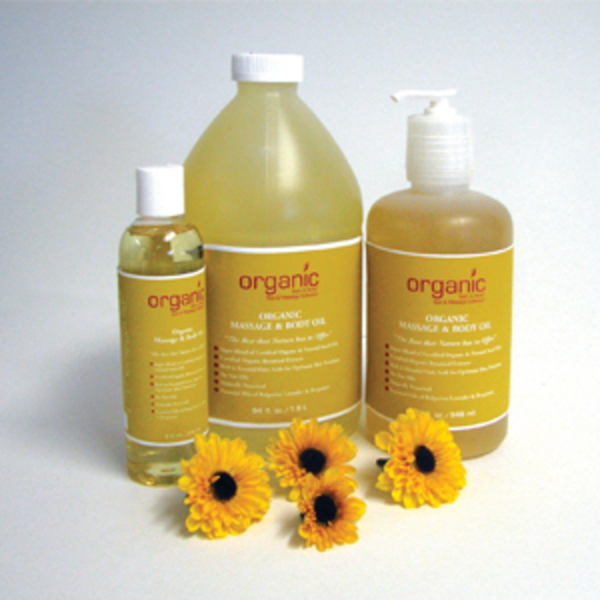 Organic Massage & Body Oil 64 oz. (OE2107)