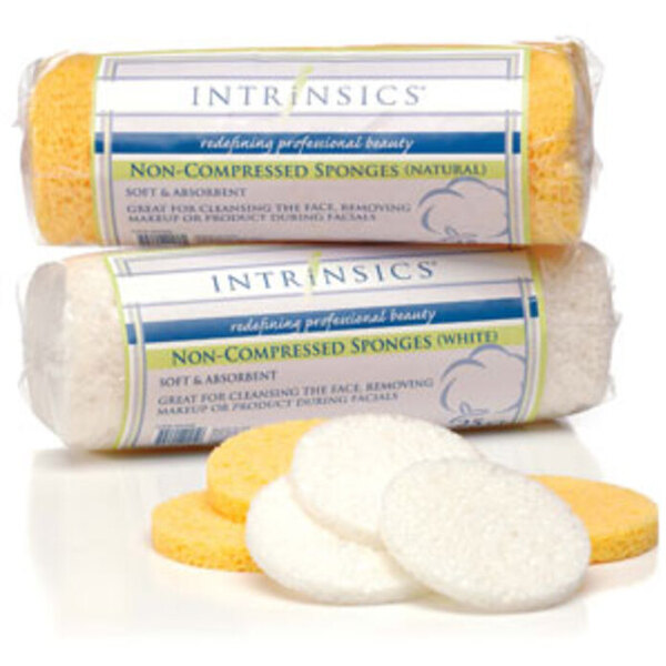 Intrinsics Non-Compressed Sponge - White 25 Pack (INT401435)