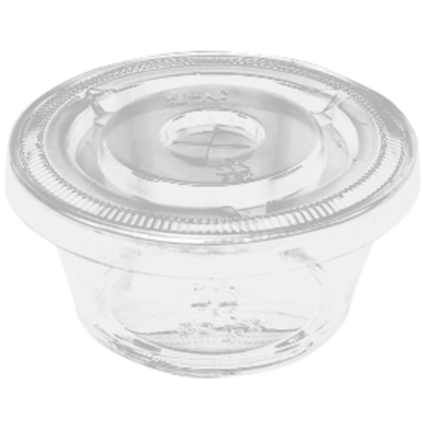 Disposable Cups and Lids 100 Pack (AMBCL3)