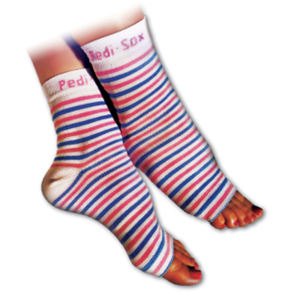Pedi-Sox Pink Stripe (PS-55P)