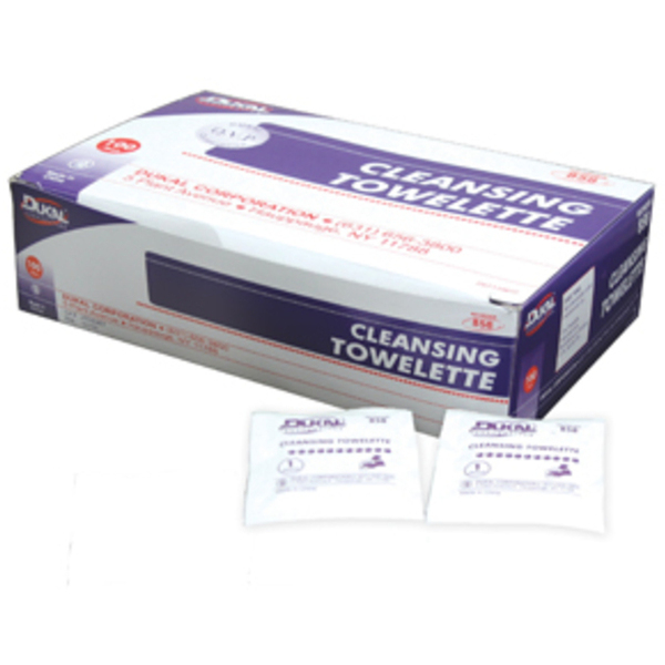 Cleansing Towelettes Box of 200 Case of 20 Boxes (DK858-20BOX-CASE)