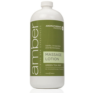 Massage Lotion - Green Tea Mint 32 oz. (529-GT)
