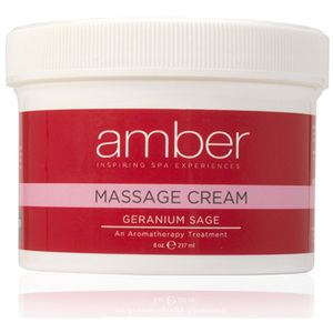 Massage Cream - Geranium Sage 8 oz. (531-GS)