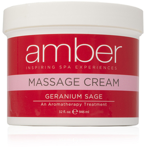 Massage Cream - Geranium Sage 32 oz. (532-GS)