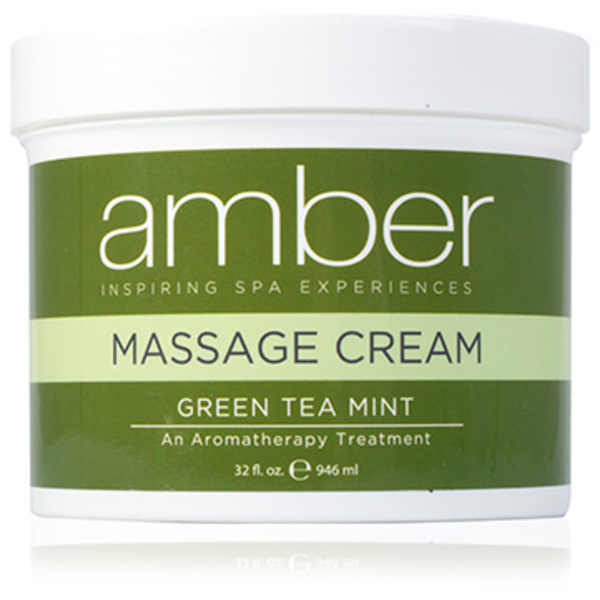 Massage Cream - Green Tea Mint 32 oz. (532-GT)