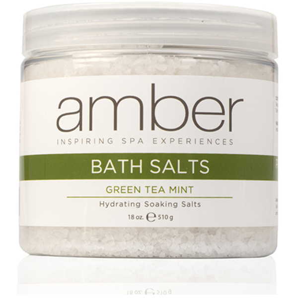 Bath Salts - Green Tea Mint 18 oz. (721-GTS)