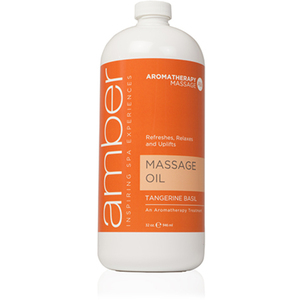 Massage Oil - Tangerine Basil 32 oz. (526-TB)