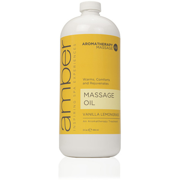 Massage Oil - Vanilla Lemongrass 32 oz. (526-VL)