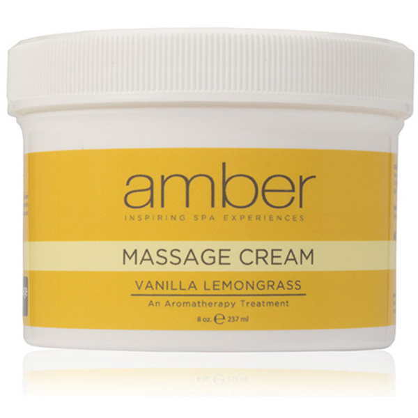 Massage Cream - Vanilla Lemongrass 8 oz. (531-VL)