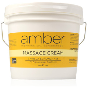 Massage Cream - Vanilla Lemongrass 128 oz. (533-VL)