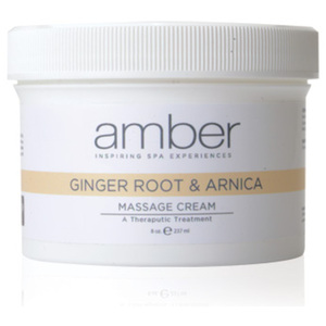 Ginger Root & Arnica Therapeutic Soothing Masssage Cream 8 oz. (575)