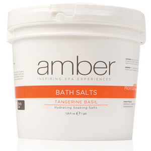Bath Salts - Tangerine Basil 128 oz. (721-TB)