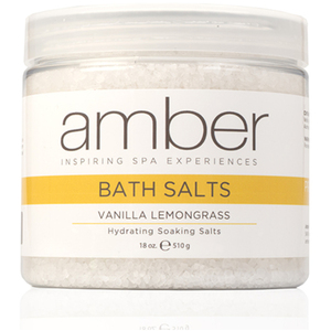Bath Salts - Vanilla Lemongrass 18 oz. (721-VLS)