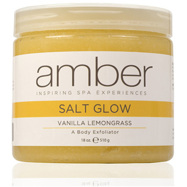 Exfoliating Salt Glow - Vanilla Lemongrass 18 oz. (720-VLS)