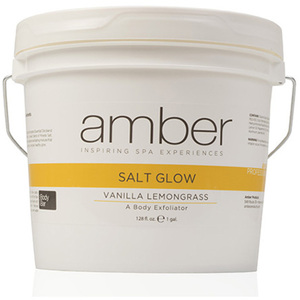 Exfoliating Salt Glow - Vanilla Lemongrass 128 oz. (720-VL)