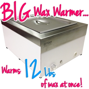 Super Large Capacity Stainless Steel Wax Heater - Holds 12 Lbs. of Wax! (SS949)